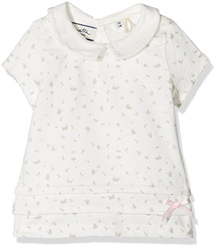 Sanetta Baby-Mädchen 906459 T-Shirt, Beige (Ivory 1829), 86 -