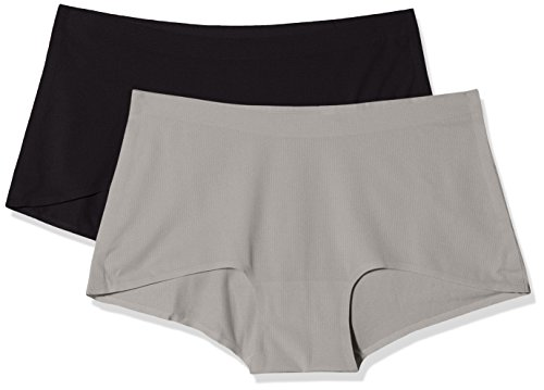 Sloggi Damen Funktionsunterwäsche Women Move Shorty C2P, Mehrfarbig (Black Combination M014), Gr. 36 (Herstellergröße: Small) - Shorty Damen Panty