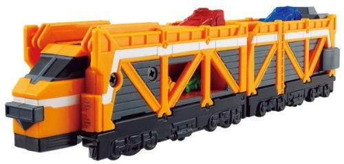 Bandai Ressha Sentai ToQger Train Union Series 7 Car Carrier Ressha -