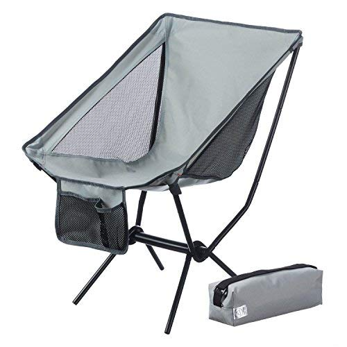Canyon Cruise Moonchair Campingstuhl Camping-Hocker Moon Chair XXL Faltstuhl (Grau)