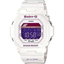 Casio Baby-G BLX-5600-7ER - Reloj digital de cuarzo para mujer, correa de resina color blanco (alarma, cronómetro, luz)