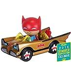 Batman POP! Ridez Vehicle with Dorbz Figure ?66 Batman Gold Batmobile SDCC 2016 Exclusive 12 cm Funko Mini figures