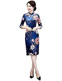 96e639ba430a Amazon.es: Vestidos Cortos En Rojo - Azul / Accesorios / Mujer: Ropa