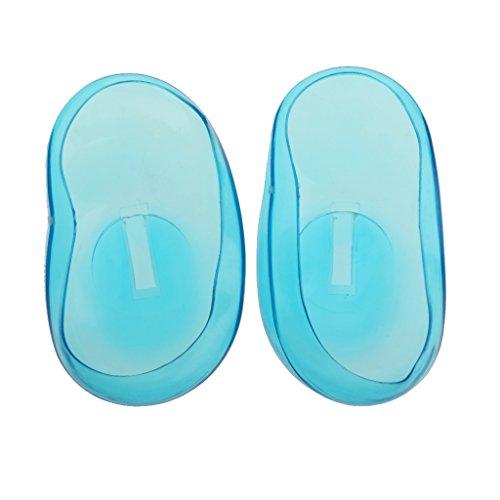 1 Paire Couvre-oreilles Protecteur Oreille pour Coloration de Cheveux Salon de Coiffeur
