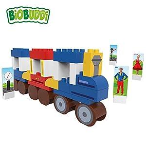 BIOBUDDI Juf Roos BB-0114 Juguete de construcción Juego de construcción - Juguetes de construcción (Juego de construcción, Multicolor, 1,5 año(s), 41 Pieza(s), Niño/niña, Niños)
