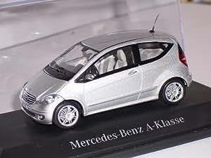 MERCEDES-BENZ A-KLASSE 2006 SILBER 3 TÜRER W169 1/43