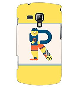 PrintDhaba GRANDbet R D-3202 Back Case Cover for SAMSUNG GALAXY S DUOS S7562 (Multi-Coloured)