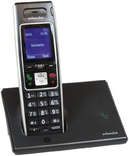 Swissvoice Avena 248 Schnurloses Analog-Telefon (DECT) mit optischer Anrufsignalisierung und FullEco-Mode