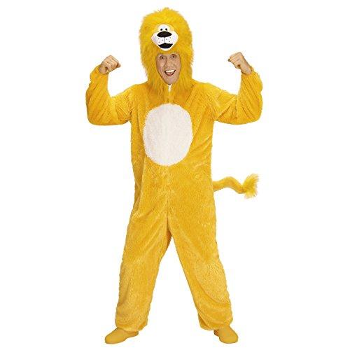 Löwe Für Erwachsene Kostüm - Widmann 97145 Erwachsenen Kostüm Löwe, unisex-adult, Blau, M
