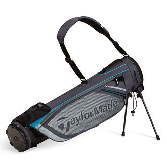 TaylorMade 2016 Quiver Pencil Bag Mens Golf Carry Bag-2 Way Top Black/Red
