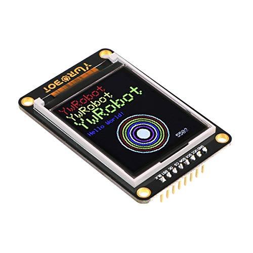 makerhawk display lcd tft da 1.8 pollici i2c colore grafico, spi serial port module 5v, risoluzione 128x160, colore 262k con memoria frame per arduino diy