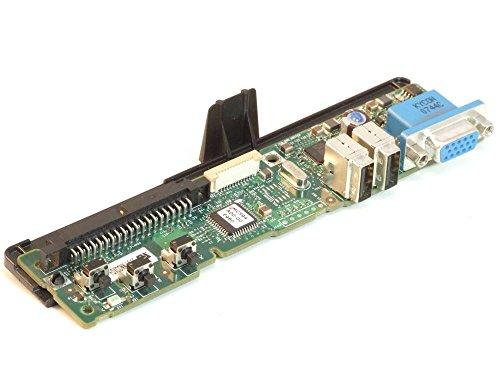 Dell JU317 IO Front Panel Board USB VGA PowerEdge R805 1900 2900 2950 2970 JH878 (Zertifiziert und Generalüberholt)