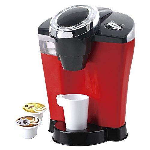 PlayGo - Cafetera eléctrica con goteo de agua & sonidos (ColorBaby 44316)