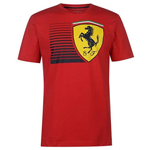 Big Shield T-Shirt Rosso Corsa S ()