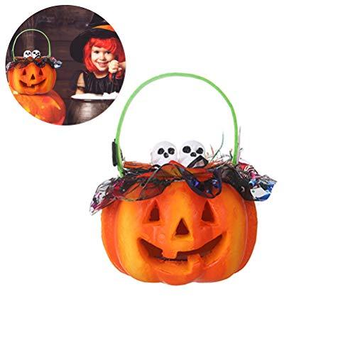 Ysoom halloween decorazione di zucca, luce led zucca luce halloween lanterna decorativa divertente vestito squisito, halloween luce per spuk casa decorazione halloween