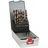 Bosch 2 608 587 018 - Juego de 25 brocas para metal ProBox HSS-Co, DIN 338 (aleación de cobalto) - 1-13 mm (pack de 25)