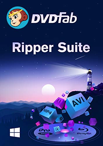 Ripper Suite ( DVD + Blu-Ray Ripper) Vollversion Win (Product Keycard ohne Datenträger) (Dvd-ripper-software)