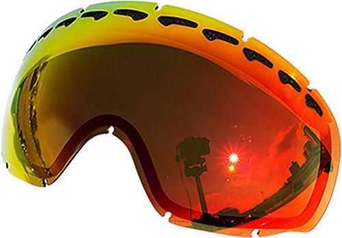 Lentes de repuesto para Oakley Crowbar–Gafas para la nieve, Red Mirror