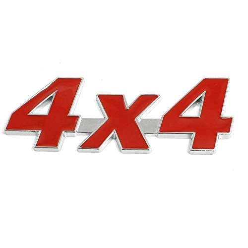 SODIALR Metal 4X4 Inyectores Decorativo Coche Distintivo