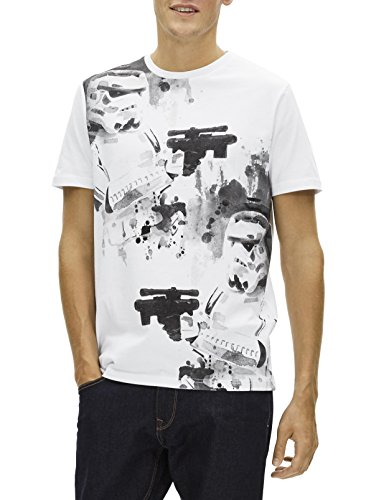 ... Celio Herren T-Shirt Lfepaint Weiß