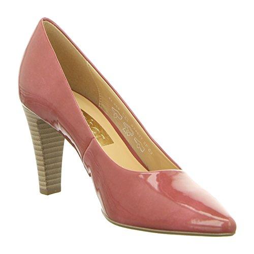 Gabor 41-280-90 Schuhe Damen Lack Pumps Weite F Rose