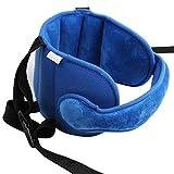 Chennie Kleinkind-Autositz-Kopfband, Carseat-Riemenabdeckung, Sicherheitsautositz-Halsentlastung, Blau (Color : Blau)