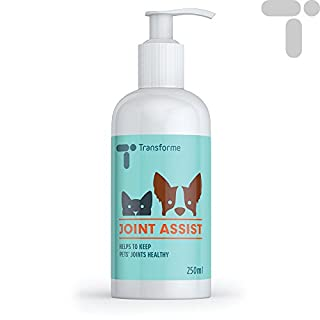 Transforme Joint Assist for Dogs and Cats, 250ml, High Strength Liquid Glucosamine, Chondroitin, MSM, Vitamin A, C and E, Cod Liver Oil, Effective Absorbtion, Stiff Joints, Flexibility,, by