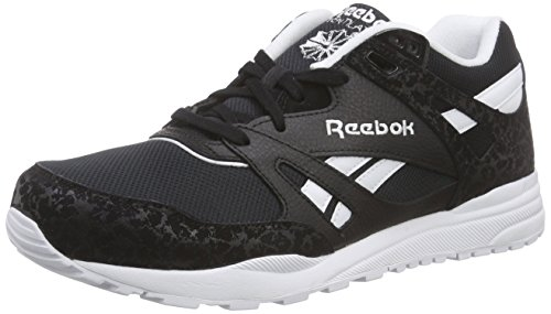 Reebok Ventilator Is, Scarpe da Corsa Uomo Nero (Black/White)