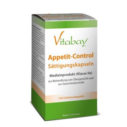 Appetit-Control - Sättigungskapseln - 120 Cellulosekapseln