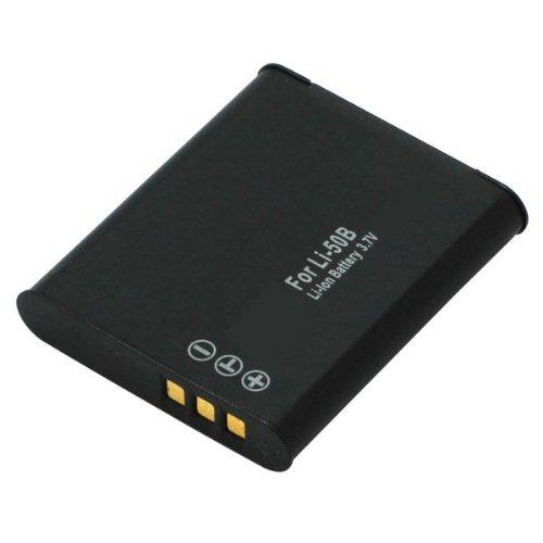 Akku für Olympus LI-50B (FE-20 FE-360 Mju 1020, µ1010 µ1000 Stylus Tough Serie) | Pentax D-Li 92 (I-10 X70) | Ricoh DB-100 (CX) Olympus Pentax Sp