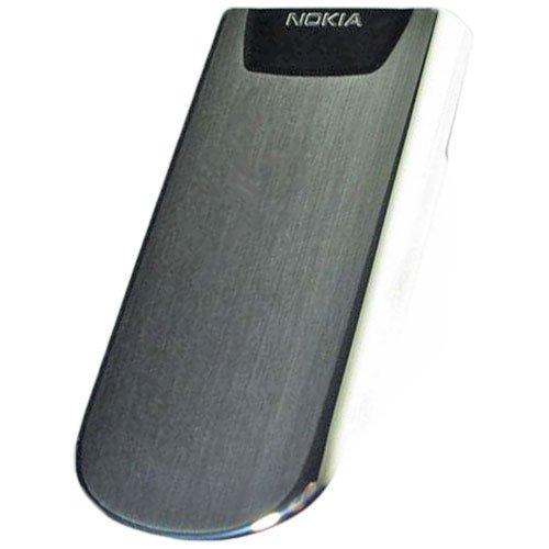 Nokia 8800 original Akkudeckel silber Nokia 8800 Sirocco Mobile