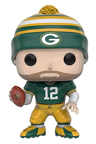 Preisvergleich Produktbild NFL Wave 3 Green Bay Packers Aaron Rodgers Pop! Football Vinyl Figur