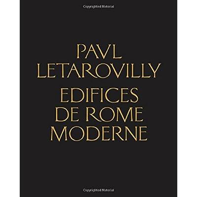 Paul Letarouilly Edifices de Rome moderne