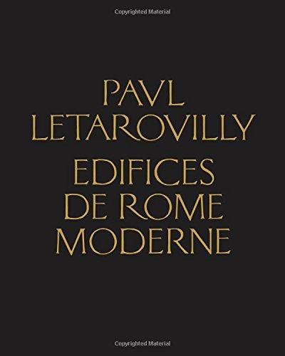 Paul Letarouilly Edifices de Rome moderne par Paul Letarouilly