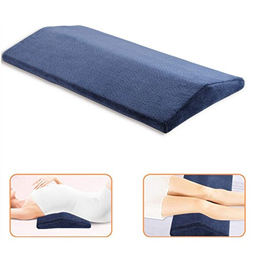 tofree Taille Kissen Memory Schaum Soft Schlafen Kissen Für unteren Rücken Bein Ischias und Gelenkschmerzen Relief - Ischias Relief