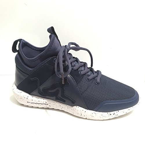 Drunknmunky Sneakers alte scarpe uomo nero DENVER CHROME 401 Navy