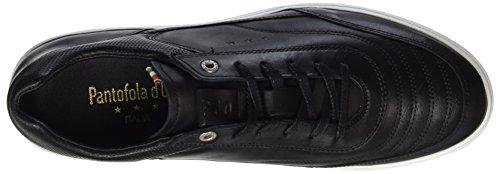 Pantofola d'Oro Herren Basilio Uomo Low Top Schwarz (Black)