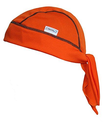 STANTEKS Herren Bandana Schutz Kopftuch Bandana Piratentuch Radfahrrad Unisex SR0054 (orange) - Orange Camouflage Cap