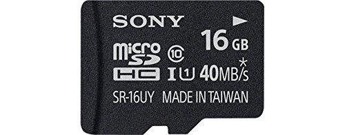 Sony-SR16UYA-Tarjeta-MicroSD-de-16-GB-UHS-I-clase-10-40-MBs-color-negro