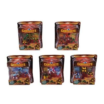 Giochi Preziosi 70011901�Gormiti Cartoon 4�Pack 5�Assorted���1�Anf�h 3�Figure