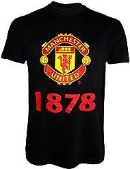 T-Shirt Manchester United, offizielle Kollektion, Erwachsenengröße, Herren