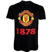 Collezione ufficiale Manchester United–Maglietta da ragazzo, bambino, black - black, 12 anni