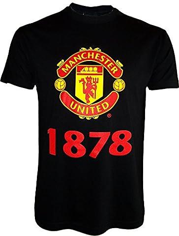 T-shirt Manchester United - Collection officielle - Taille enfant garçon 12 ans