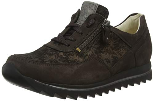 Waldläufer Damen Haiba Oxfords, Braun (Denver Daisy Nuba 038), 38 EU