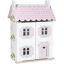 Papo 11126 - Casita de muñecas, color rosa y blanco