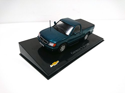 Eaglemoss Chevrolet S-10 Pick Up 1995 Auto General Motors 1/43 (Ref: CH19) - Spielzeug Pick-up