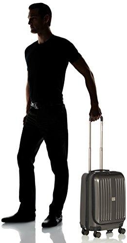 HAUPTSTADTKOFFER - X-Berg - Handgepäck Koffer Trolley Hartschalenkoffer, TSA, 55 cm, 42 Liter, Graphite - 8