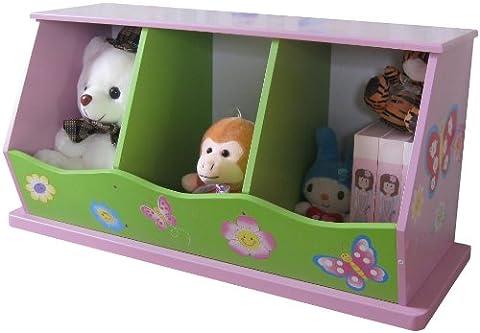 Liberty House Toys 3-bin Unité de rangement pour filles