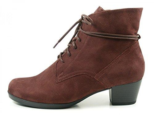 GABOR comfort - Damen Stiefeletten - Schwarz Schuhe in Übergrößen dunkelrot/bordo
