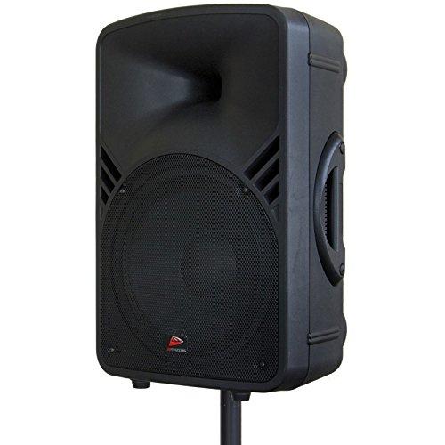 JB Systems PPA-121 250W Black loudspeaker - loudspeakers (1.0 channels, Wired, 3.5 mm, 250 W, 45 - 2